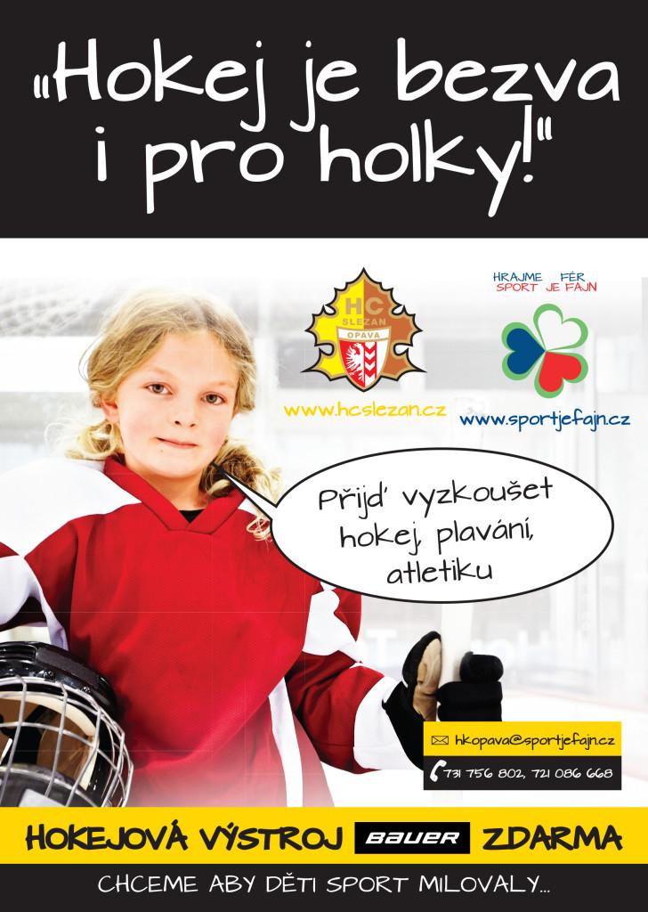 Hokej je bezva i pro holky