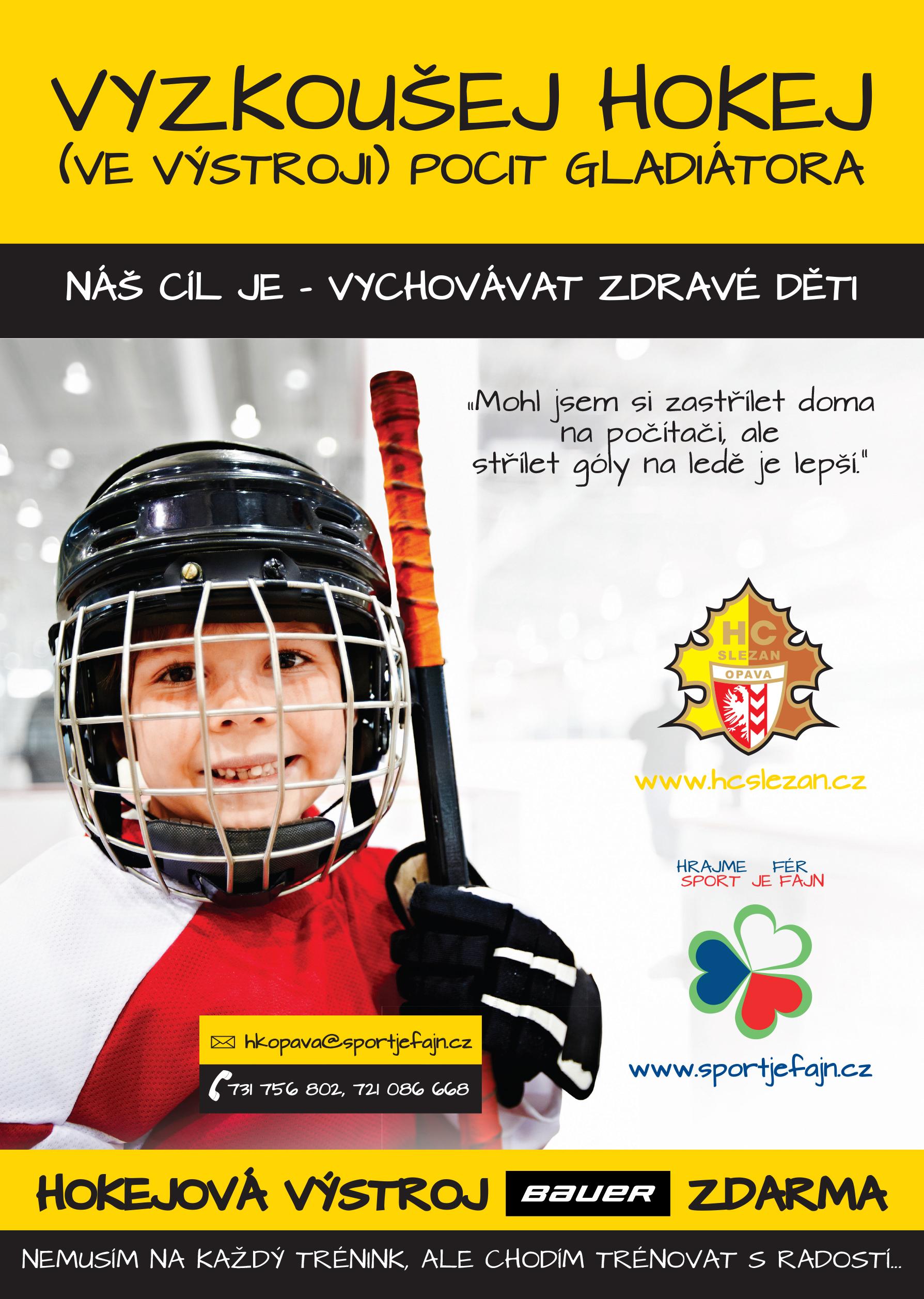 Vyzkousej hokej Slezan Opava